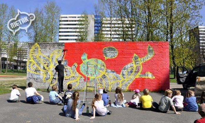 warsztaty graffiti - os. 1000lecia