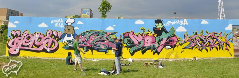warsztaty dla seniora - graffiti